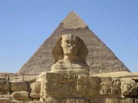 sphinxgreatpyramidegypt